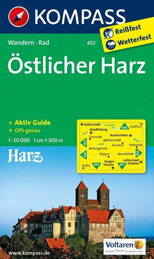 Östlicher Harz 1 : 50 000 als Buch von