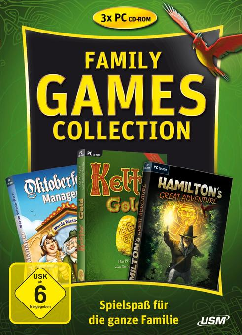 Family Games Collection 3er Box