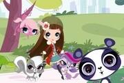 Hasbro: Littlest Pet Shop. Spaziergang im Park. Puzzle