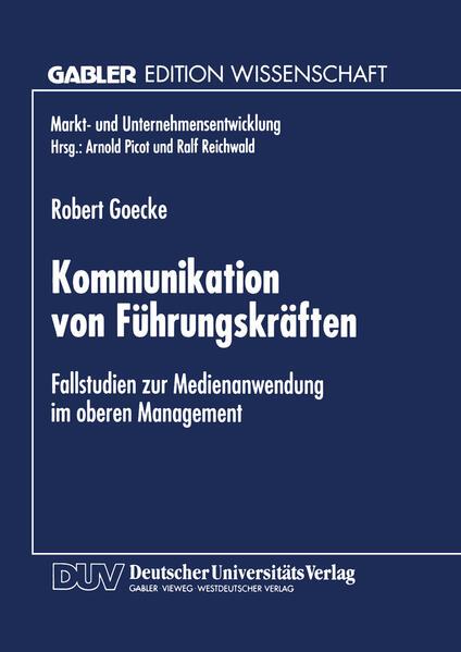 Kommunikation von Führungskräften als Buch von ...