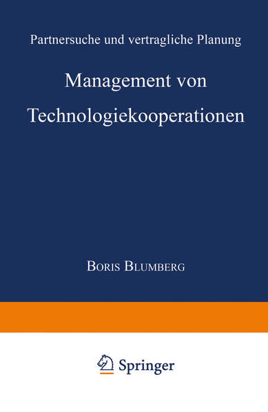 Management von Technologiekooperationen als Buc...