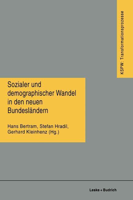 Sozialer und demographischer Wandel in den neue...