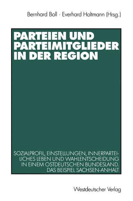 Parteien und Parteimitglieder in der Region als...