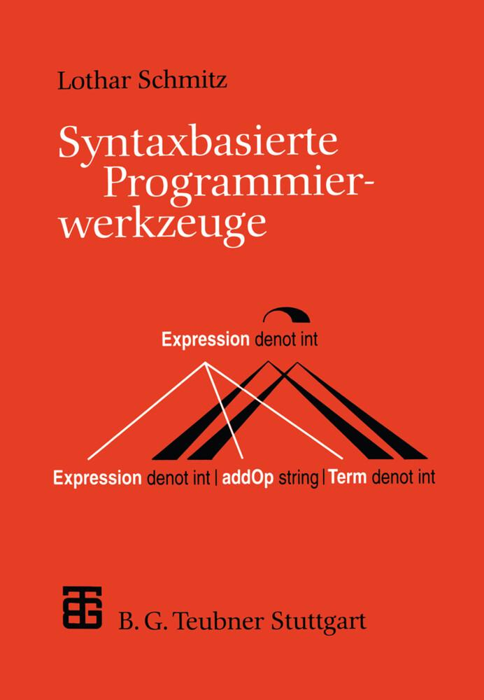 Syntaxbasierte Programmierwerkzeuge als Buch vo...