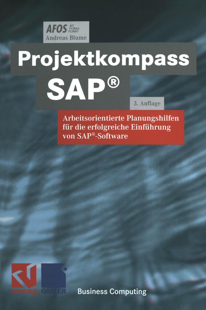 Projektkompass SAP® als Buch von Afos, Andreas ...