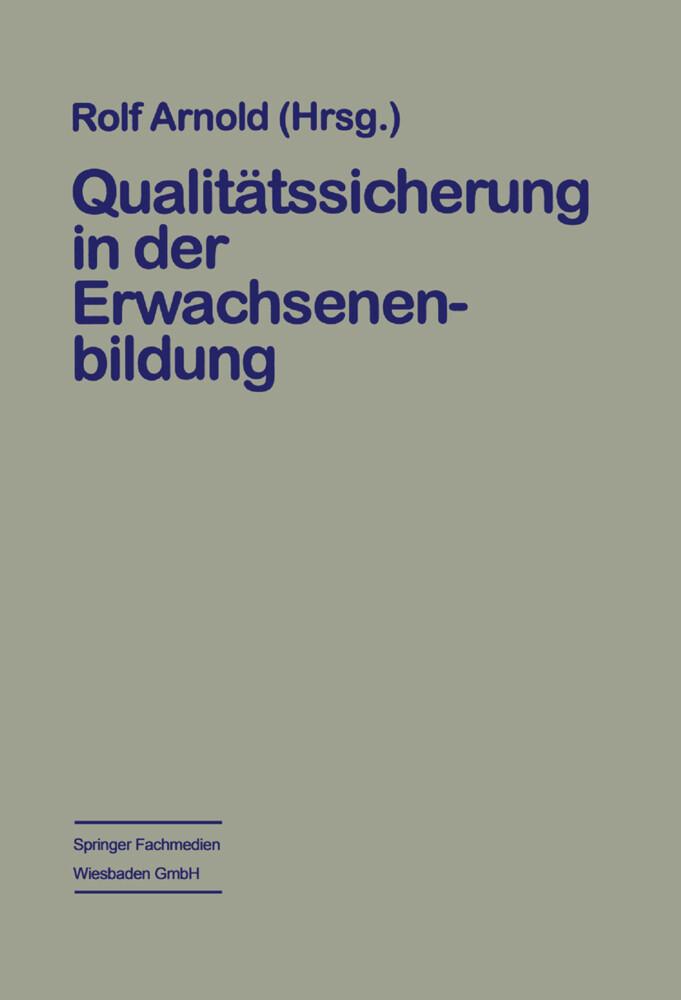 Qualitätssicherung in der Erwachsenenbildung al...