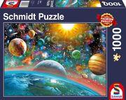 Schmidt Spiele - Puzzle - Weltall, 1000 Teile