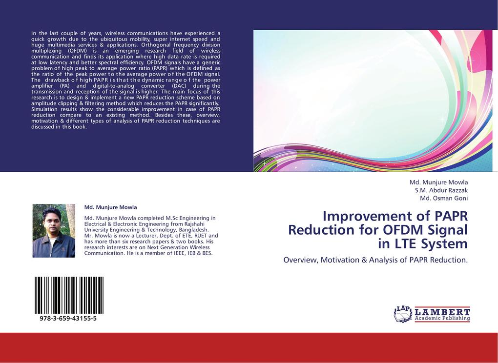 Improvement of PAPR Reduction for OFDM Signal i...