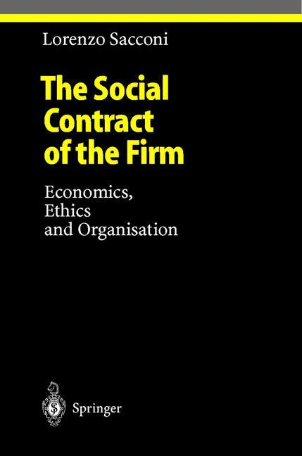 The Social Contract of the Firm als Buch von Lo...