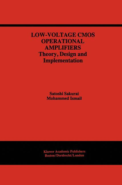 Low-Voltage CMOS Operational Amplifiers als Buc...