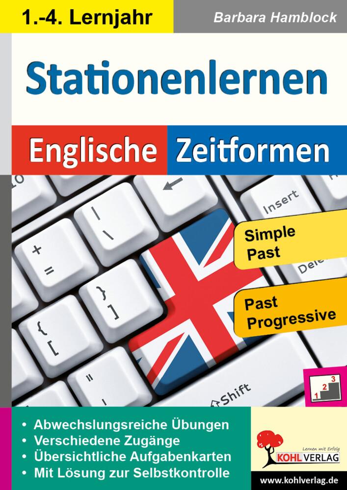 Kohls Stationenlernen Englische Zeitformen 2 als Buch
