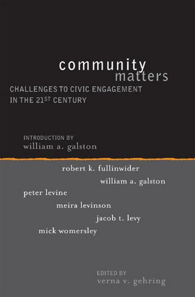 Community Matters als eBook Download von