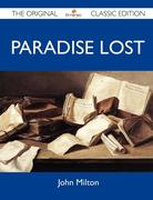 Paradise Lost - The Original Classic Edition