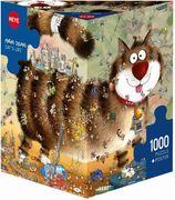 Degano Cat's Life. Puzzle 1000 Teile