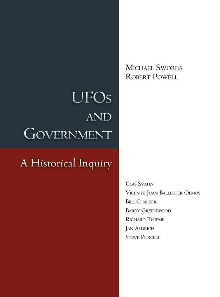 UFOs and Government als Buch von Michael Swords...