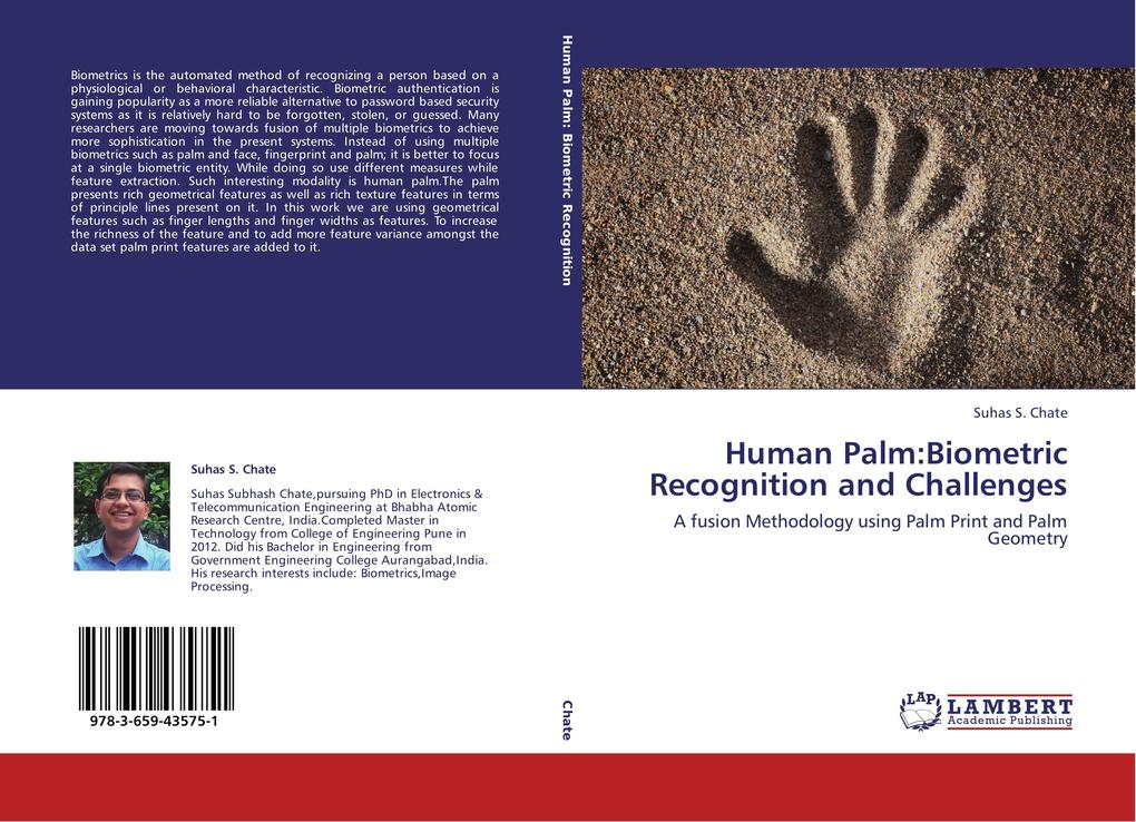 Human Palm:Biometric Recognition and Challenges...