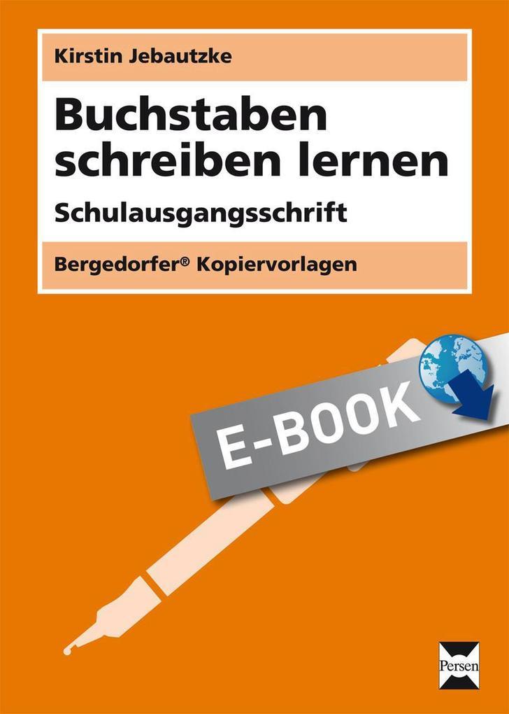 Buchstaben schreiben lernen - SAS als eBook Dow...
