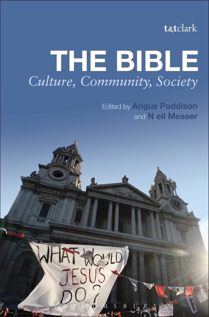 Bible: Culture, Community, Society als eBook Do...
