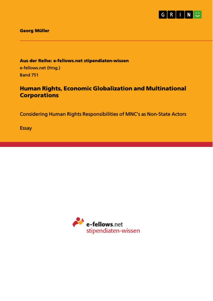 Human Rights, Economic Globalization and Multin...