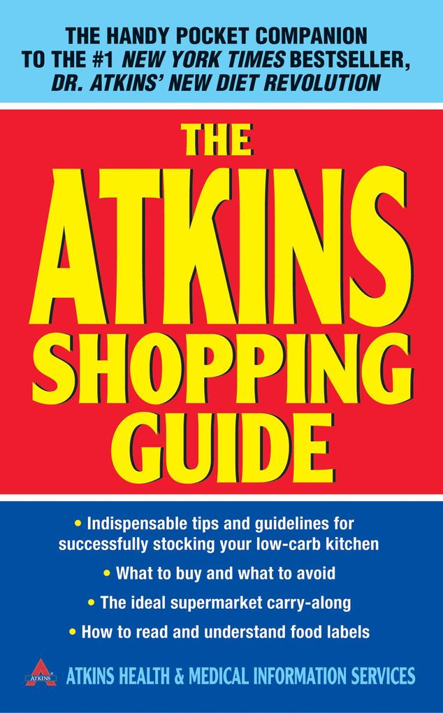 The Atkins Shopping Guide als eBook Download vo...