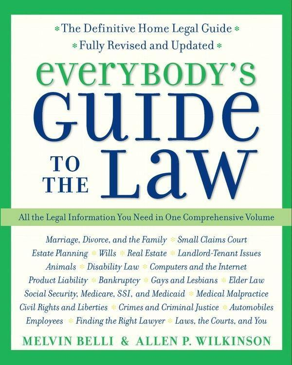 Everybody´s Guide to the Law- Fully Revised & U...