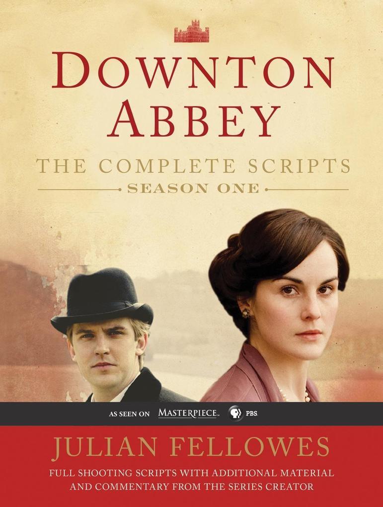 Downton Abbey Script Book Season 1 als eBook Do...