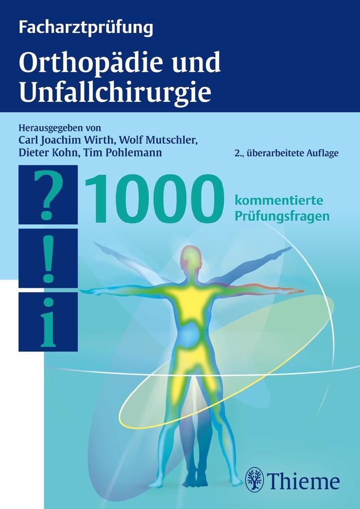 Facharztprüfung Orthopädie und Unfallchirurgie ...