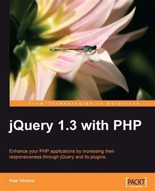 jQuery 1.3 with PHP als eBook Download von Kae ...