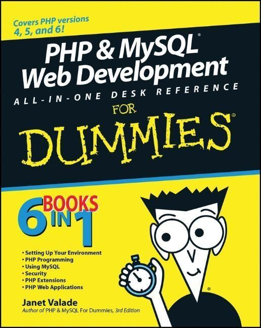PHP and MySQL Web Development All-in-One Desk R...