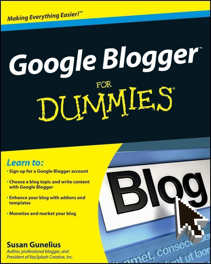 Google Blogger For Dummies als eBook Download v...