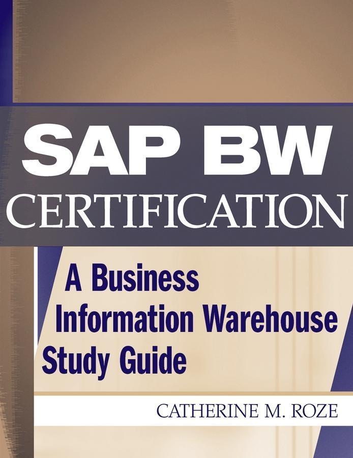 SAP BW Certification als eBook Download von Cat...