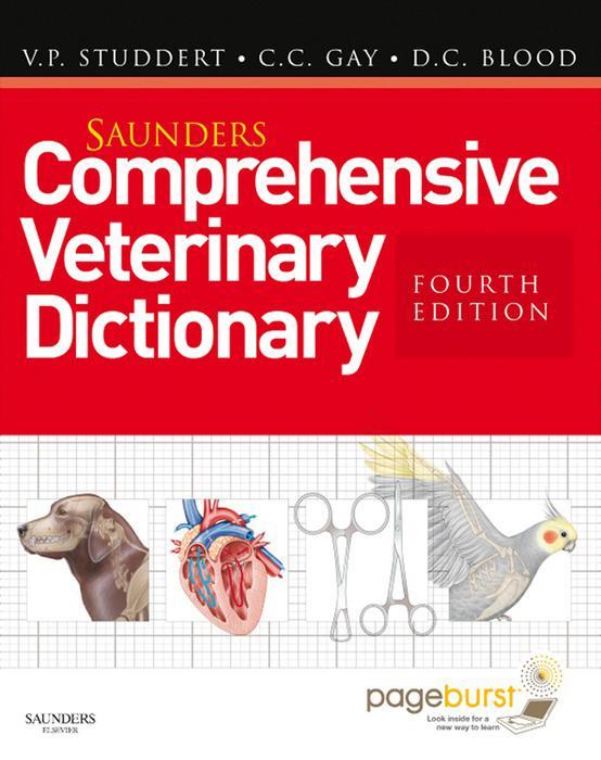 Saunders Comprehensive Veterinary Dictionary E-...