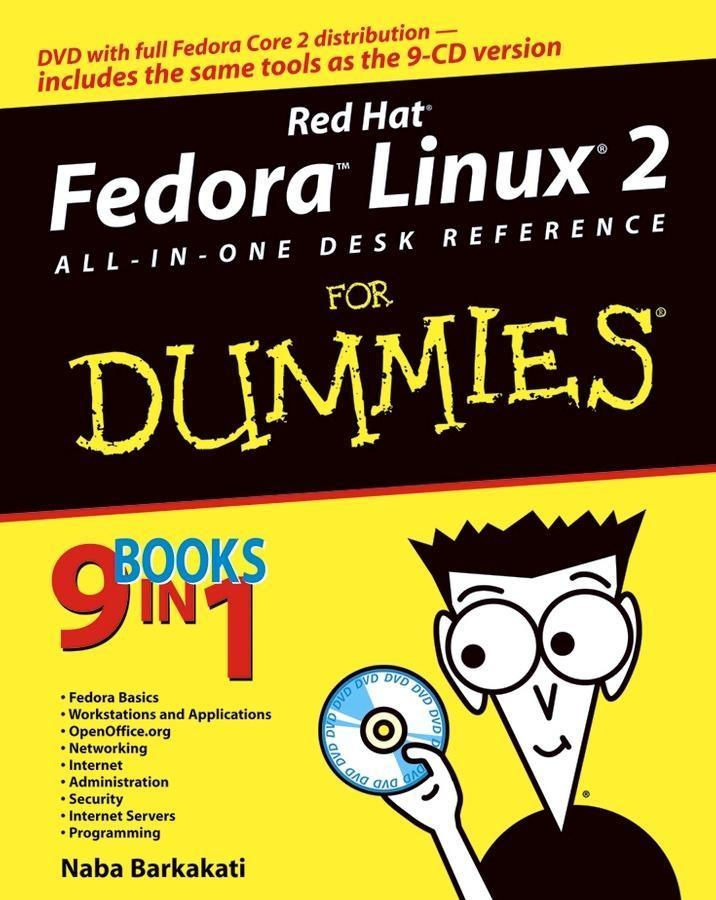 Red Hat Fedora Linux 2 All-in-One Desk Referenc...