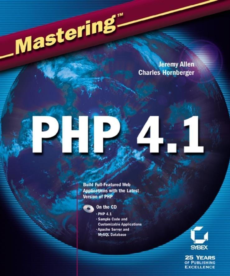 Mastering PHP 4.1 als eBook Download von Jeremy...