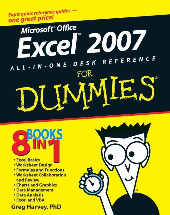 Excel 2007 All-In-One Desk Reference For Dummie...
