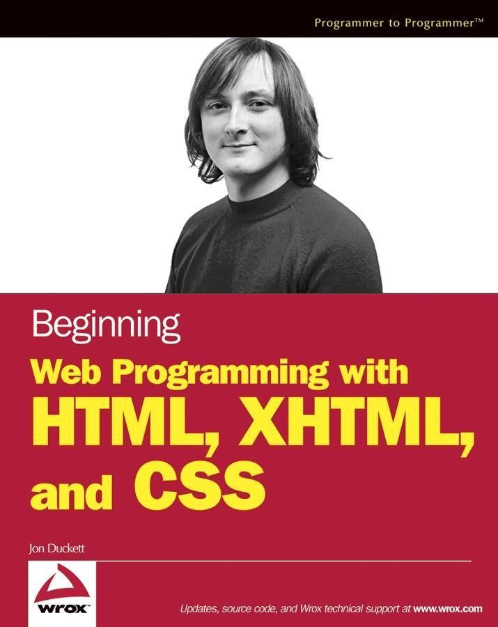 Beginning Web Programming with HTML, XHTML, and...