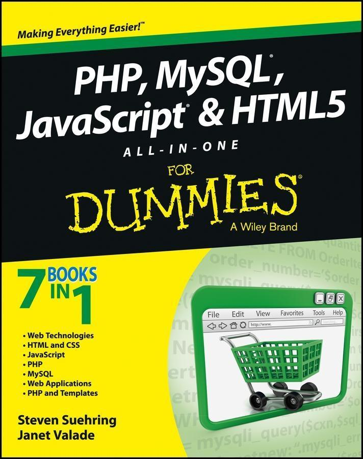 PHP, MySQL, JavaScript & HTML5 All-in-One For D...