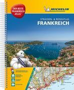 Michelin Atlas Frankreich (DIN A4) Spiralbindung