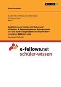 """Gedichtinterpretation mit Fokus auf Stilmittel & Expressionismus. Exemplarisch an """"Die Nächte explodieren in den Städten"""" von Ernst Wilhelm Lotz"""