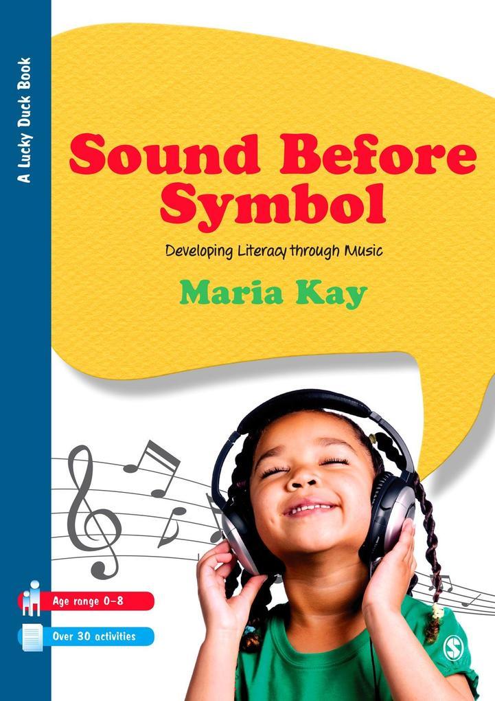 Sound Before Symbol als eBook Download von Mari...