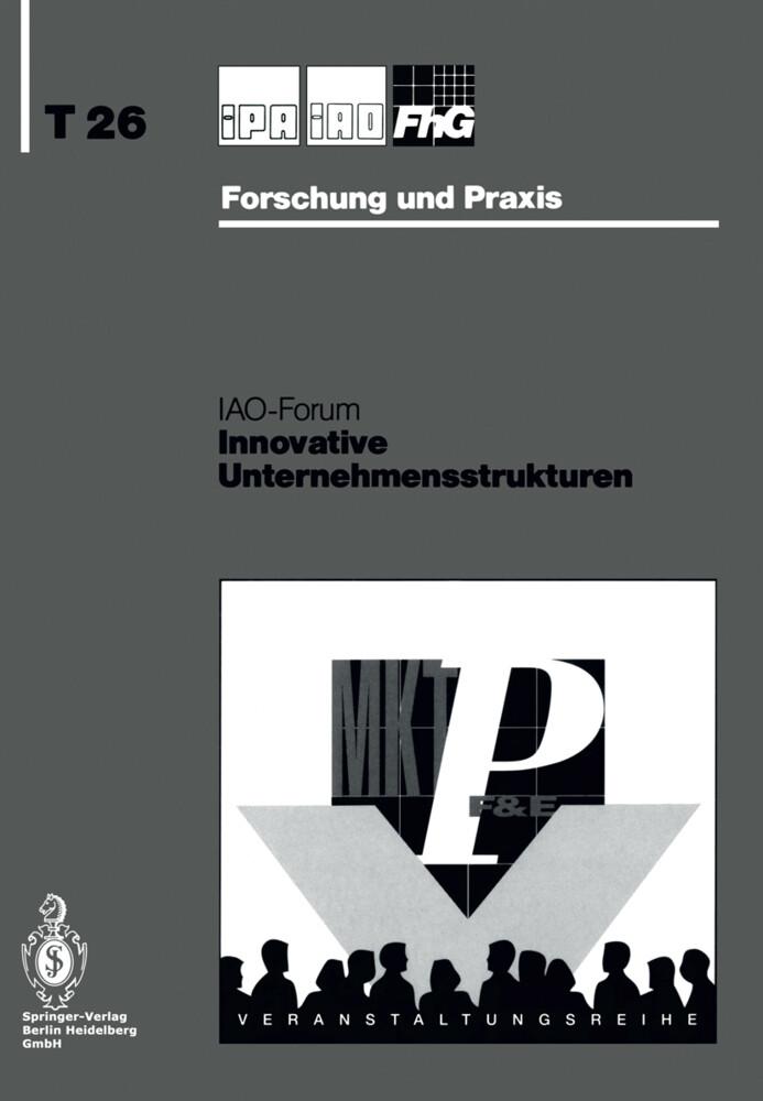 Innovative Unternehmensstrukturen als Buch von