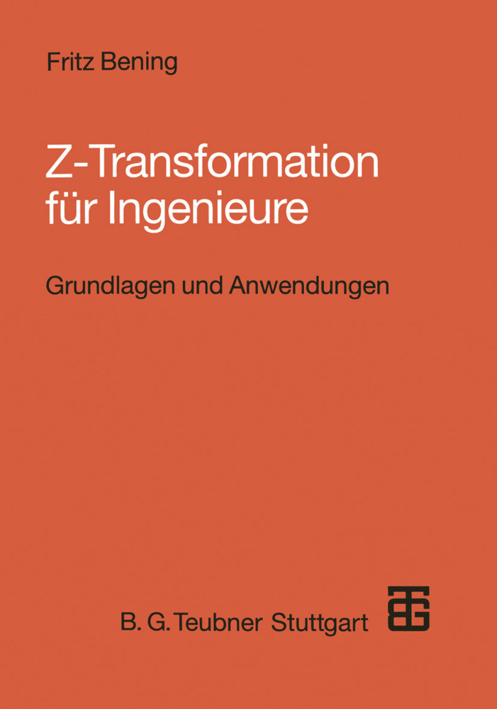 Z-Transformation für Ingenieure als Buch von Fr...
