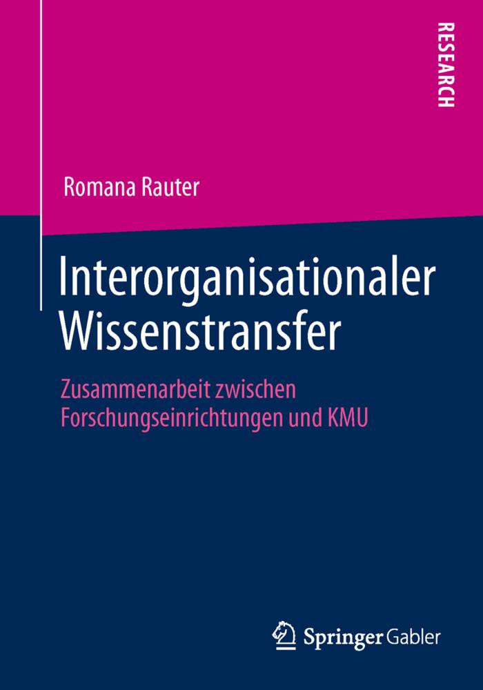 Interorganisationaler Wissenstransfer als Buch ...