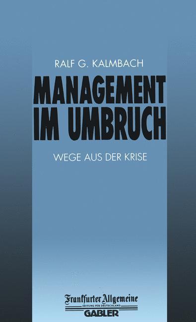 Management im Umbruch als Buch von