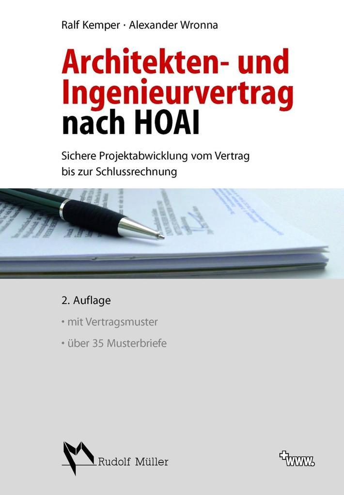 Architekten- und Ingenieurvertrag nach HOAI als...