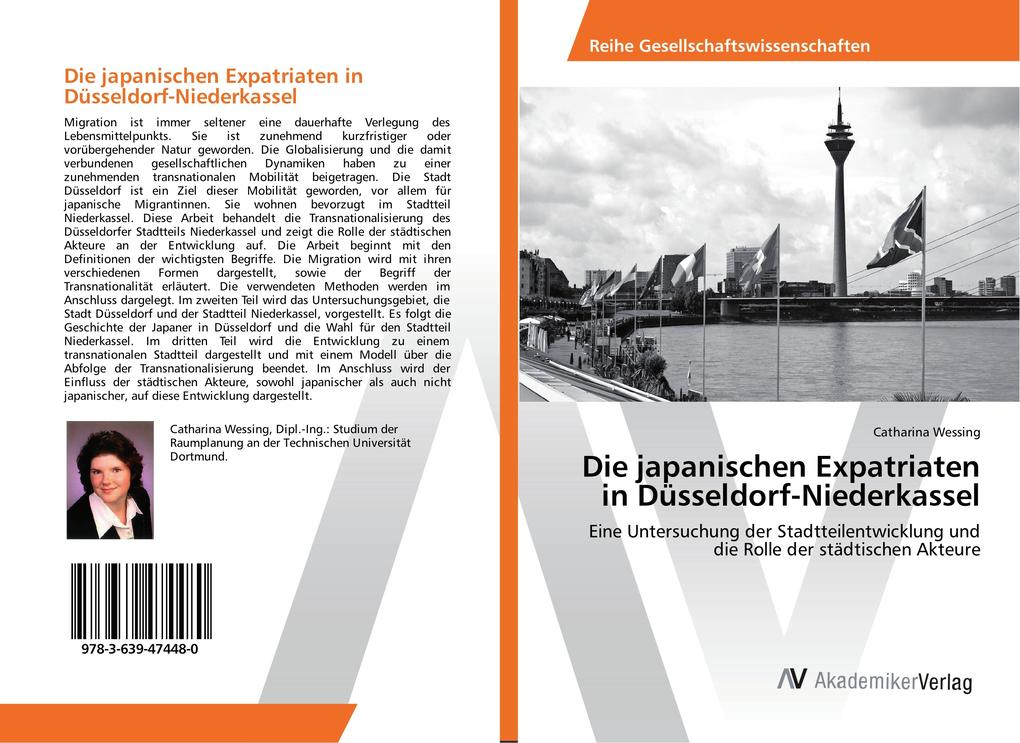 Die japanischen Expatriaten in Düsseldorf-Niede...
