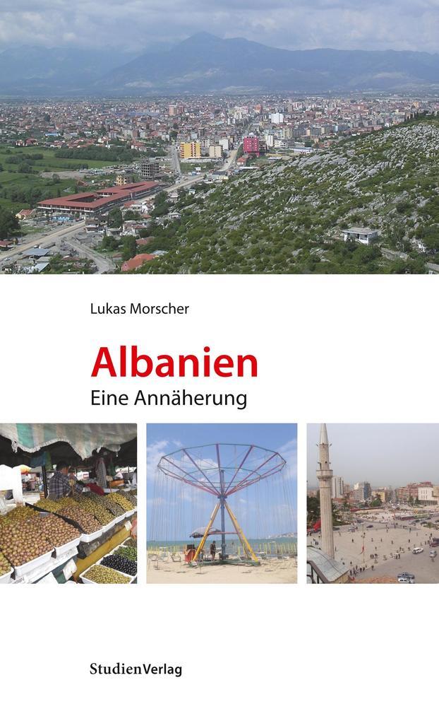 Albanien als Buch von Lukas Morscher