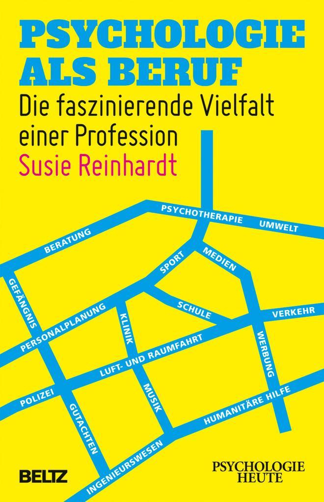Psychologie als Beruf als eBook Download von Su...
