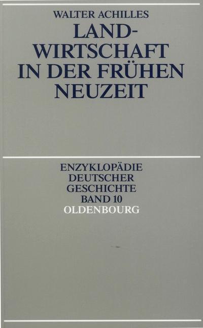 Landwirtschaft in der Frühen Neuzeit als eBook ...