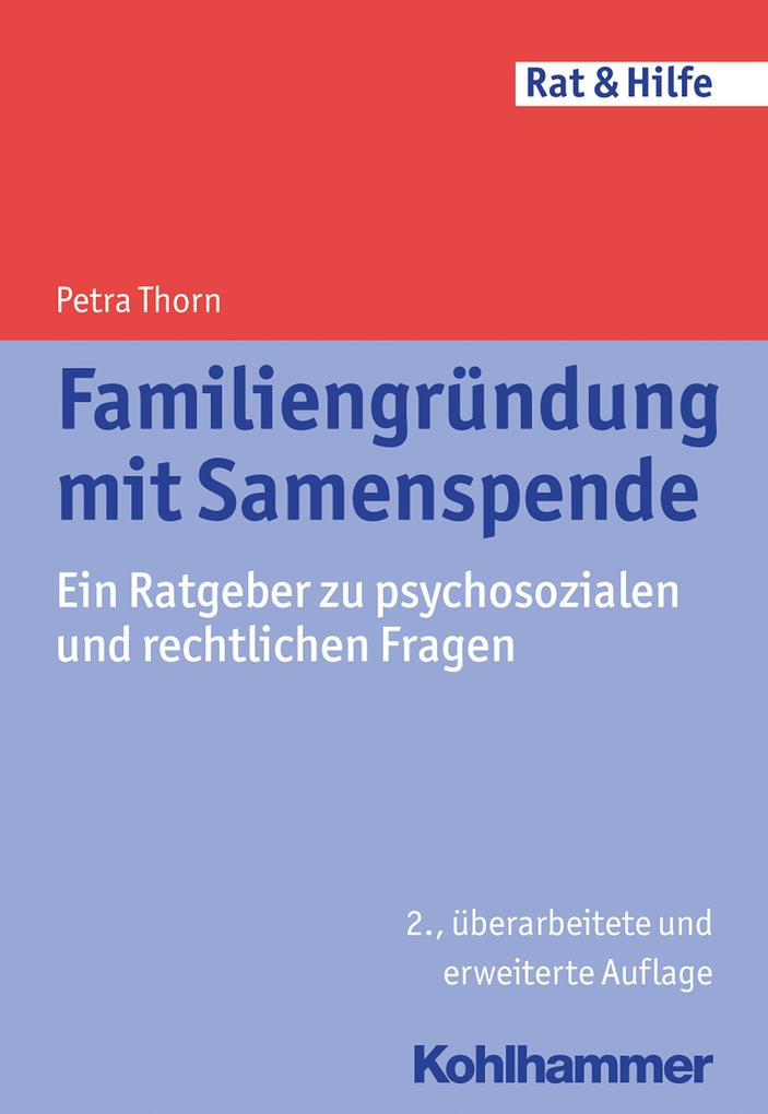 Familiengründung mit Samenspende als Buch
